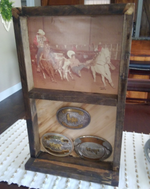 Dave Lewis Buckle Display